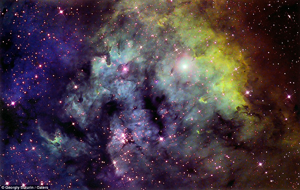 Psychedelic wonder of galaxies at night incredible images for Galactic wonder