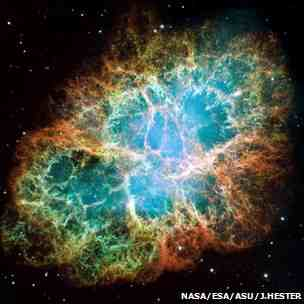 Fermi spotted that the Crab Nebula, once thought to be constant, flares violently with gamma rays