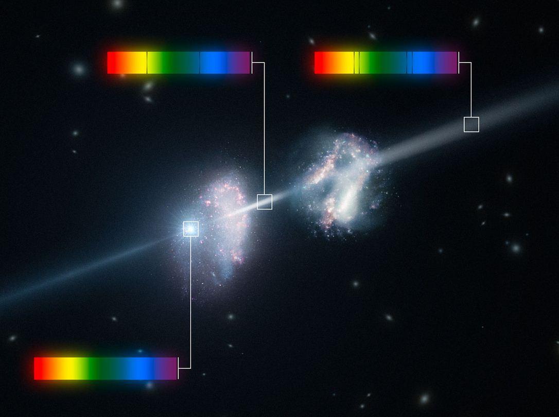 Зарождение галактики