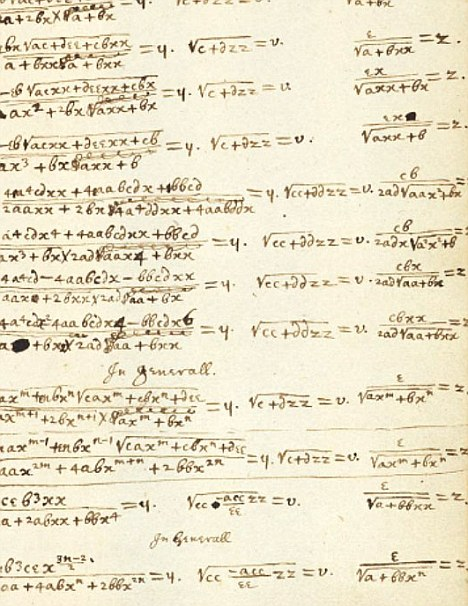 Sir Isaac Newton's handwritten notes now available online