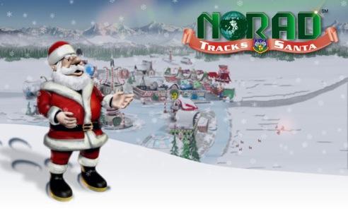 NORAD Tracks Santa. Credit: NORAD
