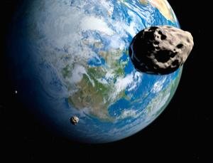 Our planet may frequently capture small asteroids into orbit (Image: Detlev van Ravenswaay/Science Photo Library)