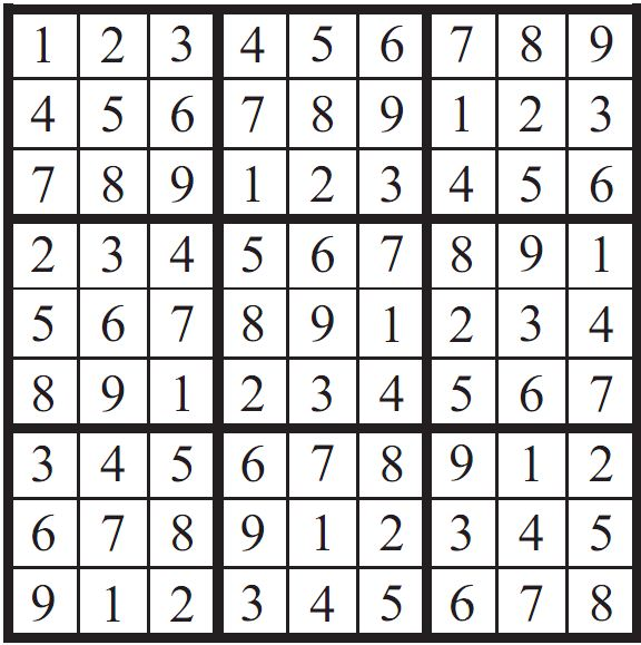 Sudoku fanatics have long claimed that the smallest number of starting