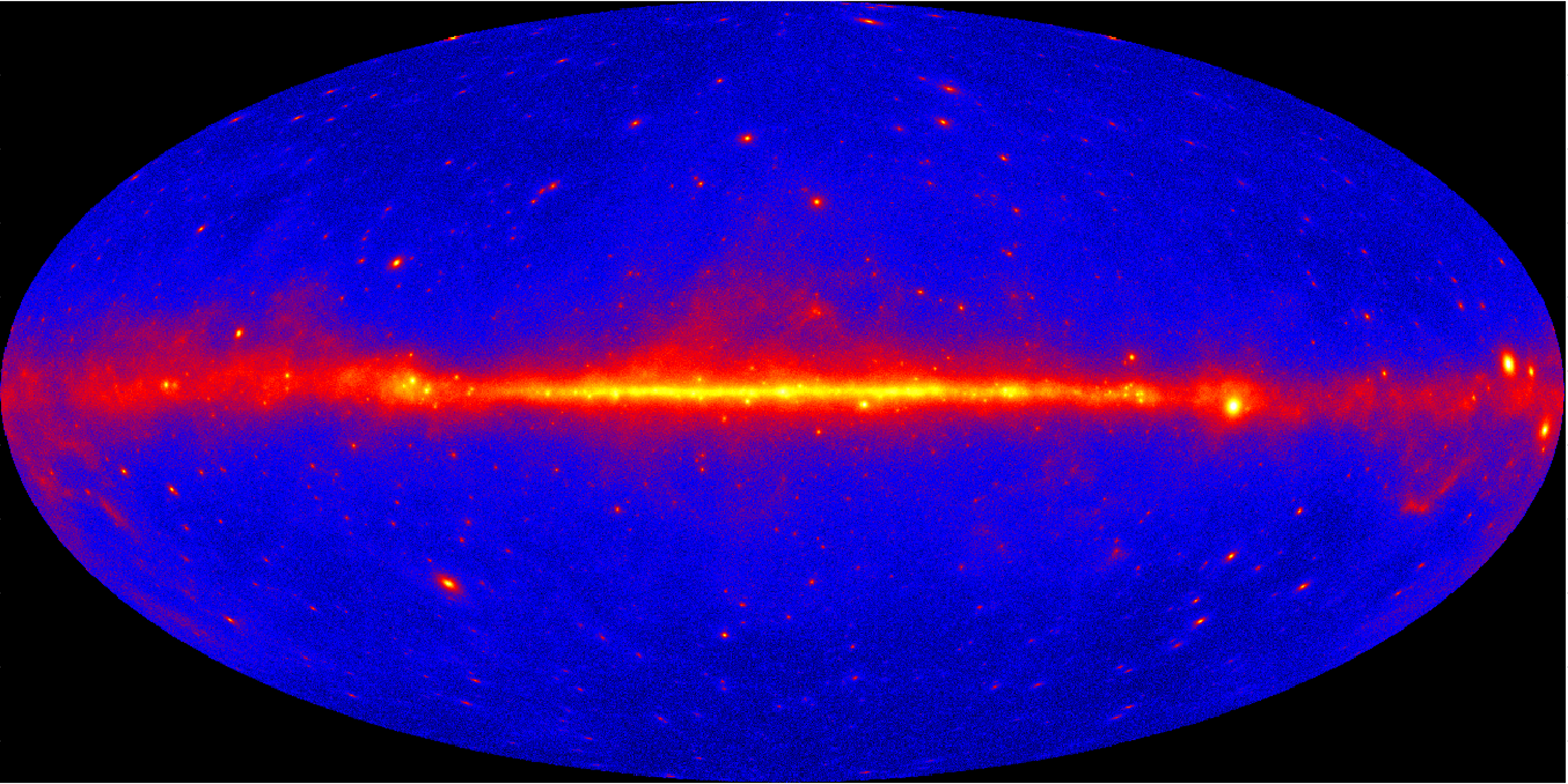 fermi uses gamma rays to unearth clues about �empty� space