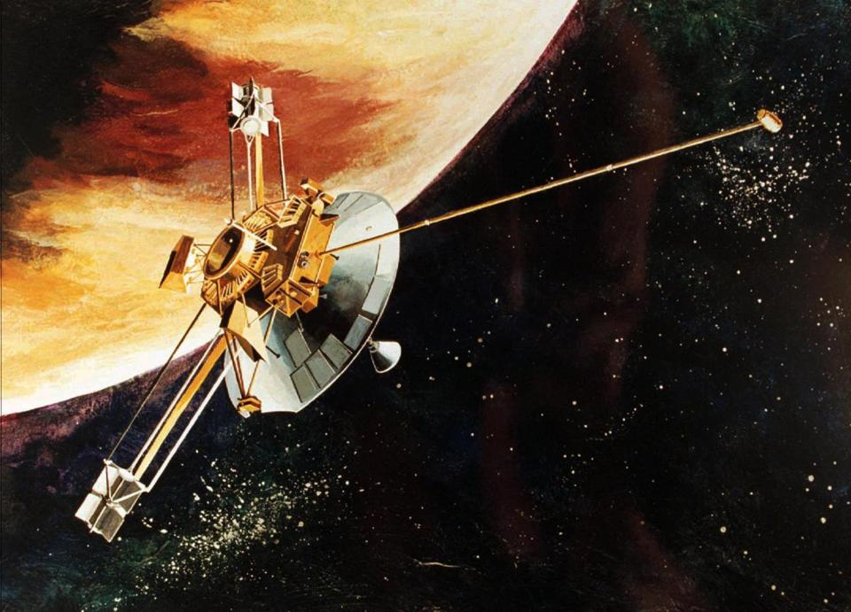 Pioneer 10 Space Probe (page 3) - Pics about space