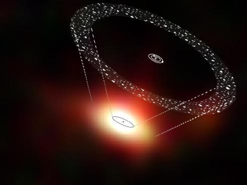 A Vast Disk of Comets