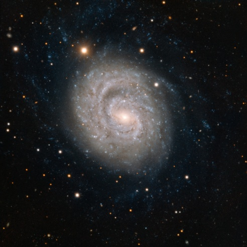 Very Large Telescope image of the spiral galaxy NGC 1637