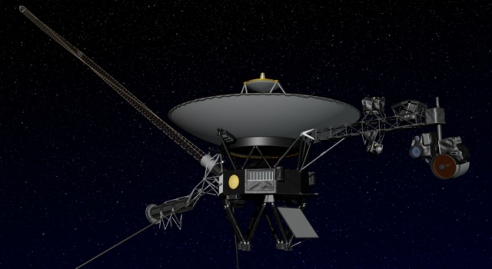 Artist's concept of NASA's Voyager spacecraft. Image credit: NASA/JPL-Caltech