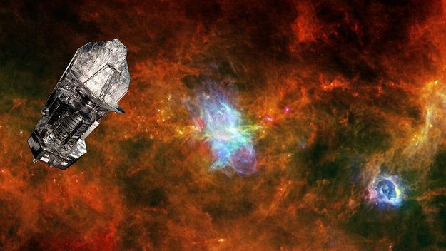 Herschel and Vela C (http://www.esa.int/Our_Activities/Space_Science/Herschel/Herschel_closes_its_eyes_on_the_Universe)