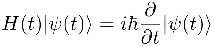 Physicists have obtained the Schrödinger equation (shown here) from a mathematical identity. Their approach shows that the linearity of quantum mechanics is intimately connected to the strong coupling between the amplitude and phase of a quantum wave.
