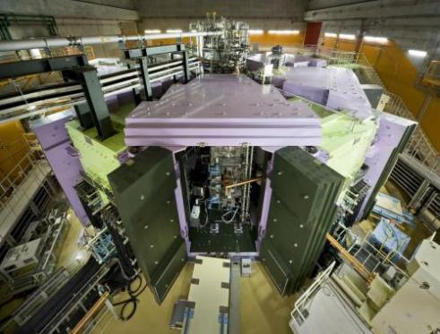 The Superconducting Ring Cyclotron at the Radioactive Isotope Beam Factory, Japan, which was used to accelerate the beam of zinc-70 nuclei reported in the present study. Credit: RIKEN Nishina Center for Accelerator-Based Science