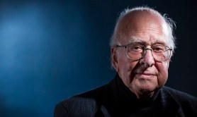 Peter Higgs: 'Today I wouldn't get an academic job. It's as simple as that'. Photograph: David Levene for the Guardian