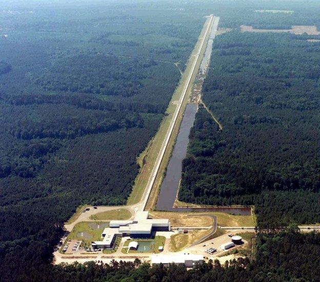 Ligo The first generation of Ligo failed to find evidence of gravitational waves